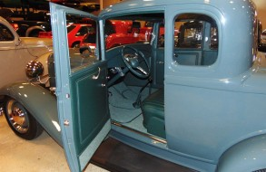 Blue Car Upholstery 1