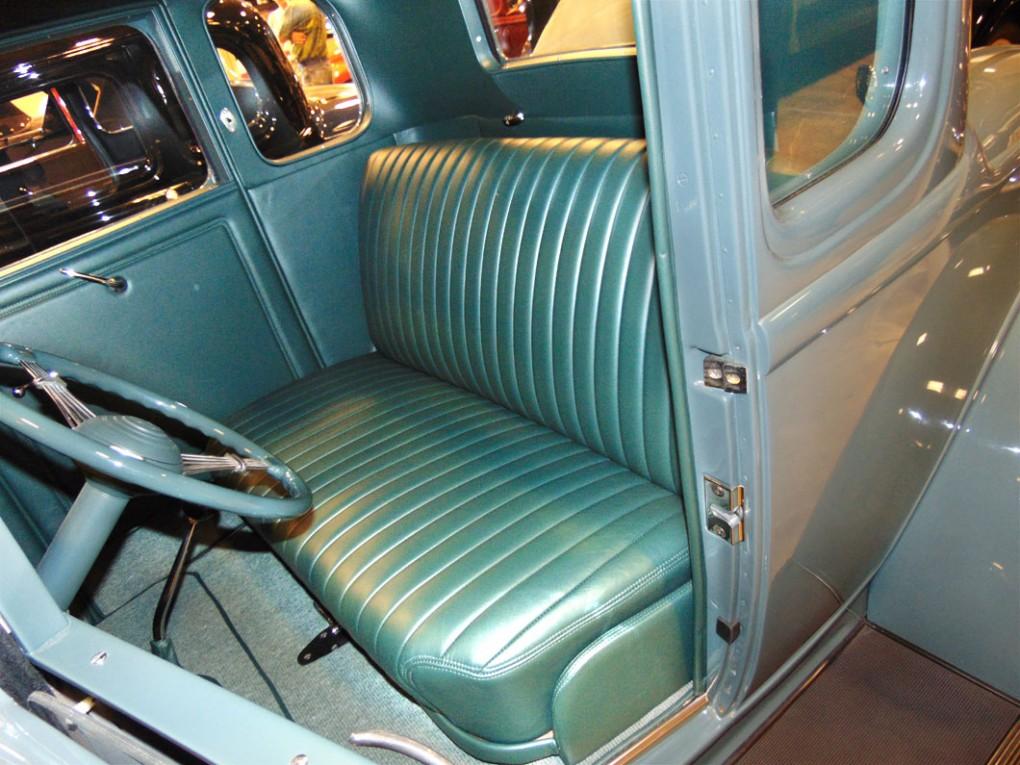 Blue Car Upholstery 2