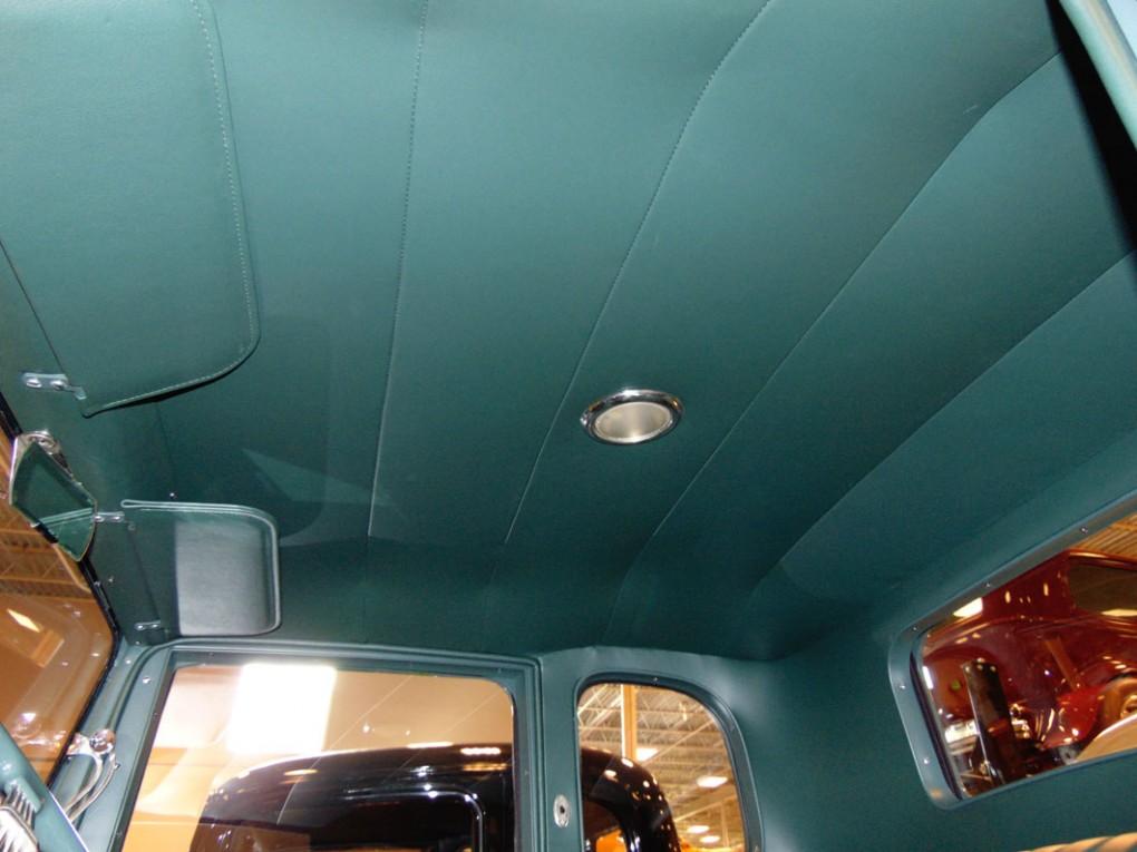 Blue Car Upholstery Headliner