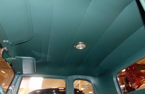 Blue Car Upholstery Headliner