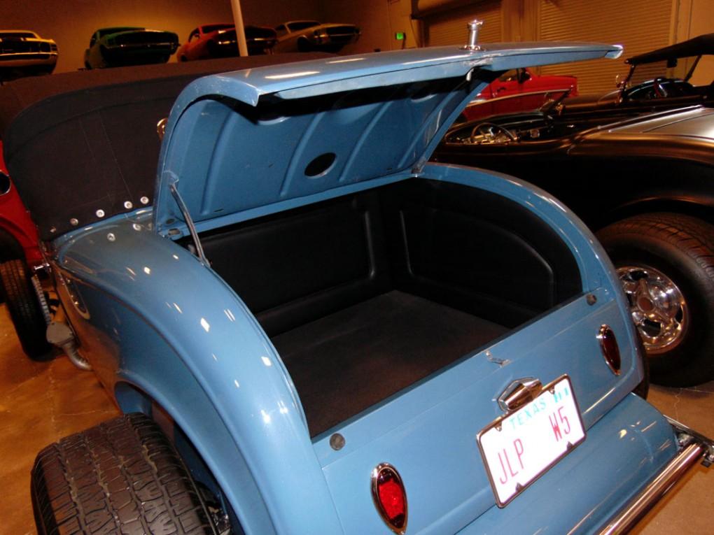 Blue Convertible Trunk 2