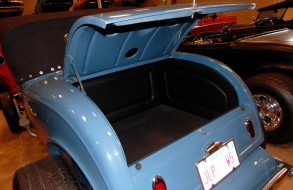 Blue Convertible Trunk 2