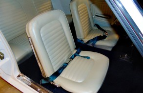 White Mustang Upholstery