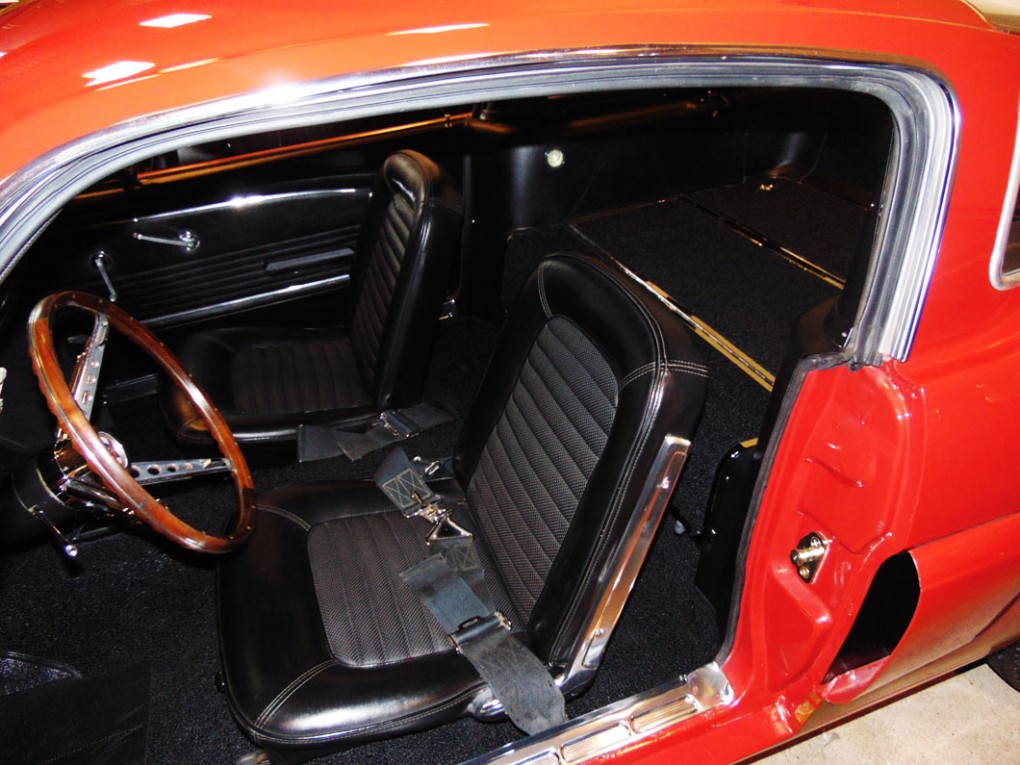 Red-Yellow Car Upholstery 1